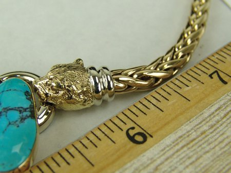 Heavy Gold Necklace - 5