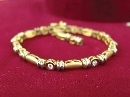 Gold & Silver Bracelet - 2