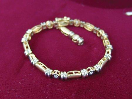 Gold & Silver Bracelet - 3