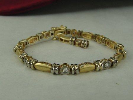 Gold & Silver Bracelet - 4