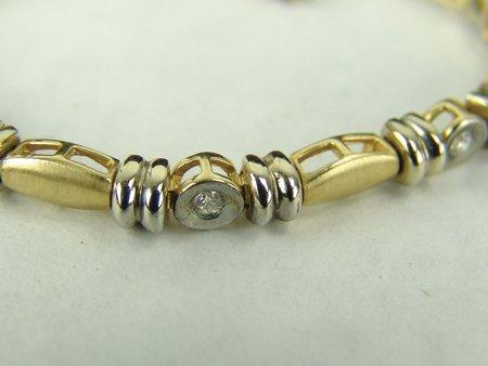 Gold & Silver Bracelet - 5