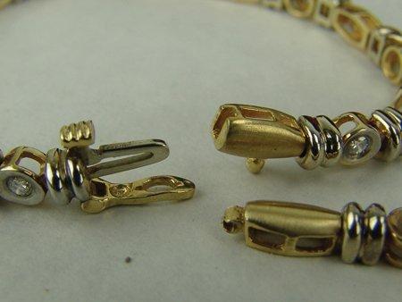 Gold & Silver Bracelet - 6