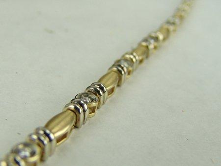 Gold & Silver Bracelet - 7