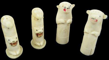 Eskimo Ivory Shakers