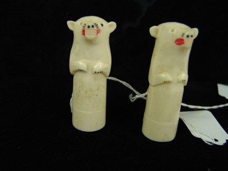 Eskimo Ivory Shakers - 6