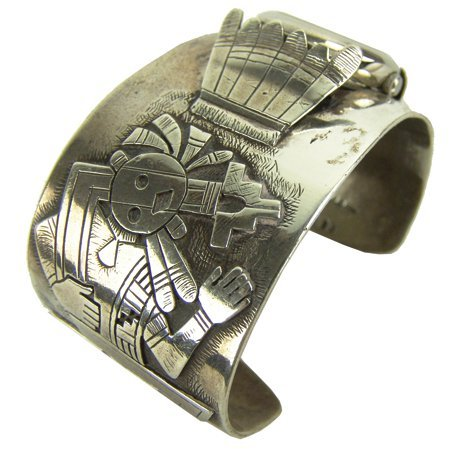 Hopi Watch Bracelet - Machale Kabotie