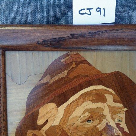 Wooden Mosaic Art Piece - 2