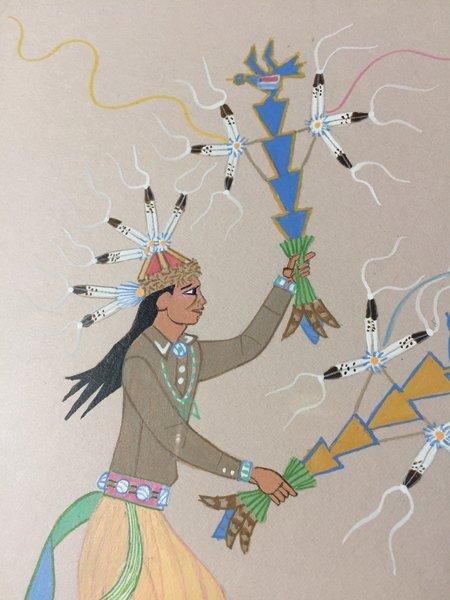 Harrison Begay, Navajo (1917-2012) - 4