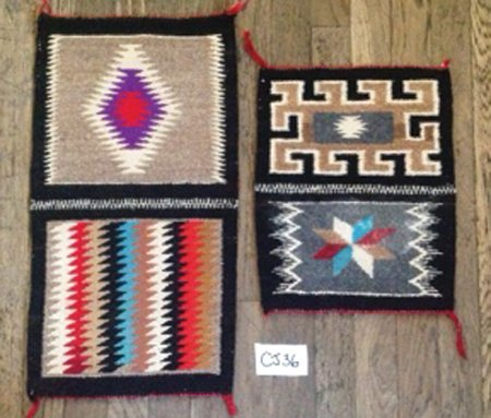 2 Navajo Rugs/Weavings