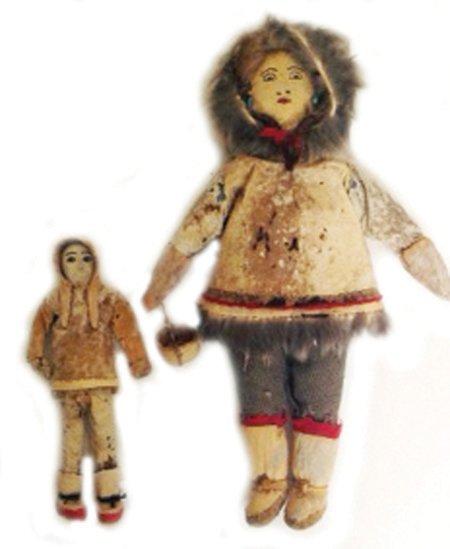 2 Alaskan Dolls
