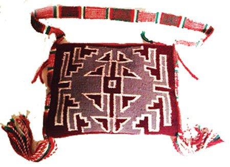 Navajo Wool Bag