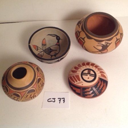 4 Pottery Pieces - 2