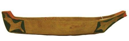 Makah Model Canoe