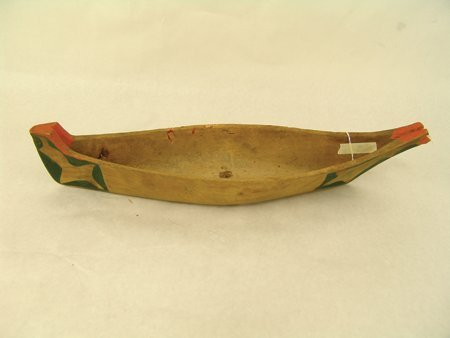 Makah Model Canoe - 2