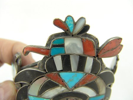 Zuni Inlay Bracelet - 7