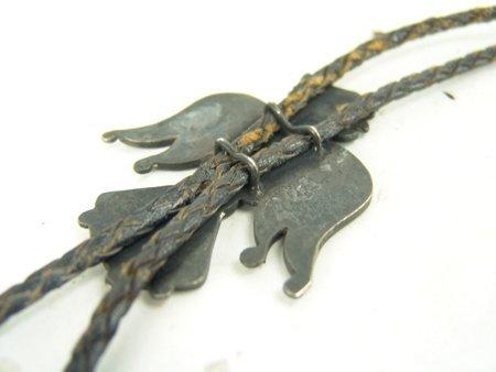 Vintage Zuni Inlay Bolo Tie - 6