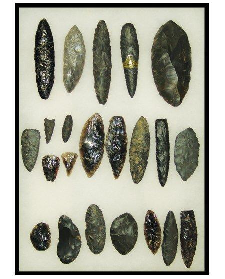 Framed Artifact Display