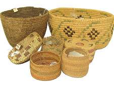 Group of 7 Baskets