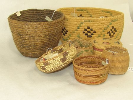 Group of 7 Baskets - 2