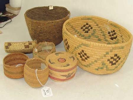 Group of 7 Baskets - 4