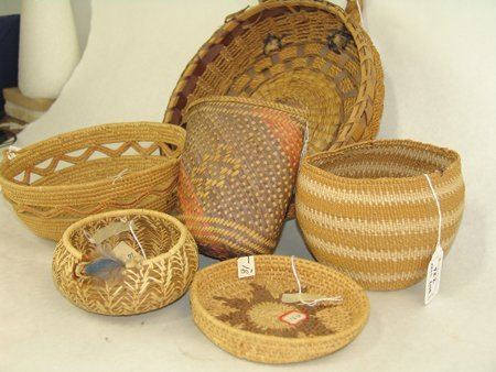 Group of 6 Baskets - 6