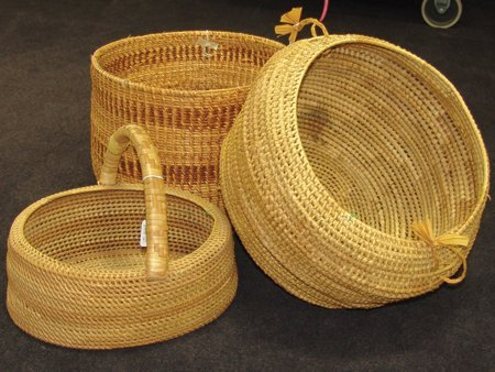 Group of 3 Large Baskets - 6