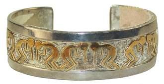 Navajo Gold & Silver Bracelet - Robert Taylor