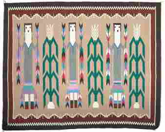 Navajo/Rug Weaving - Lena Poyer
