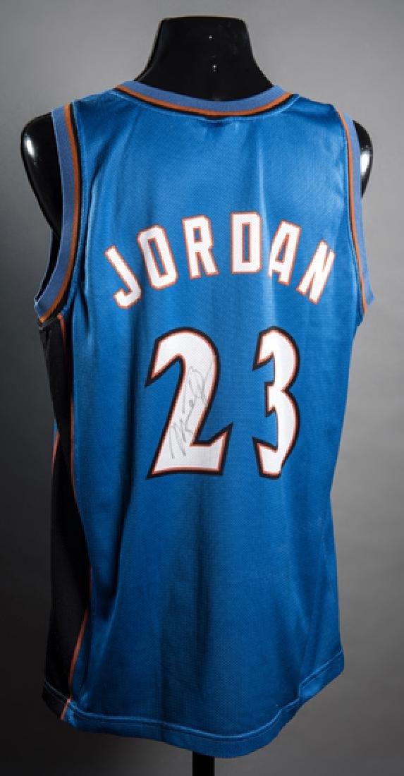 Michael Jordan signed Washington Wizards No.23