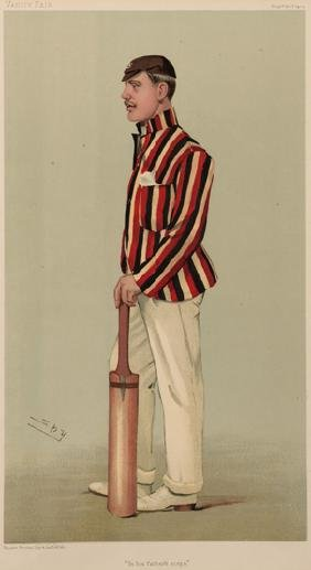 A collection of Vanity Fair prints of cricketers, 15 by