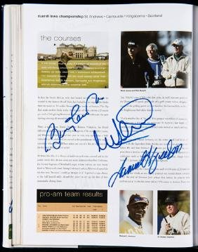 Multi-signed The European Tour Yearbook 2004,