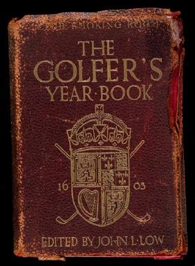 Golf books, including Golfer's Year Book for 1905,