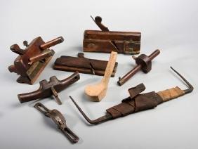 Tom Morris Snr. golf club making tools, a small group