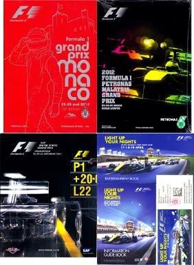Formula 1 programmes and Grand Prix reference books