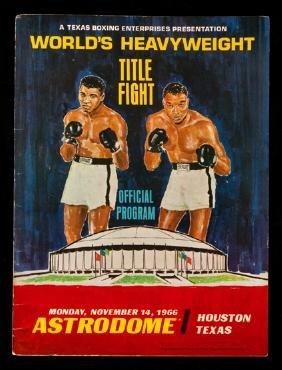 Muhammad Ali v Cleveland Williams official fight