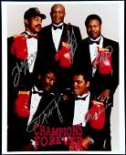 ''Champions Forever'' multi-signed boxing photograph,