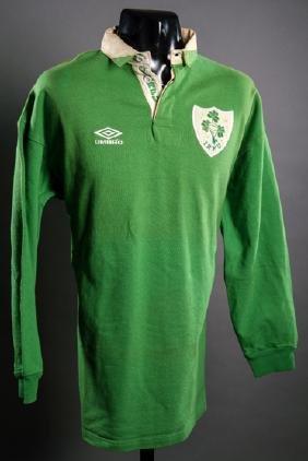 Michael Bradley green Ireland No.9 international rugby