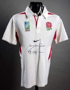 A Jonny Wilkinson signed England 2003 Rugby World Cup