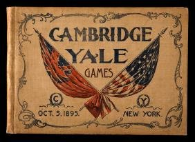 Official Programme of the Cambridge v Yale