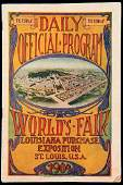 1904 St Louis Olympic Games daily official programme