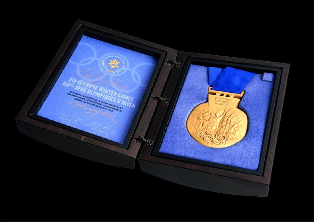 Salt Lake City 2002 Winter Olympic Games gold winner's