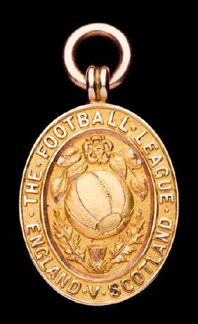 Harry Nuttall Football League representative medal