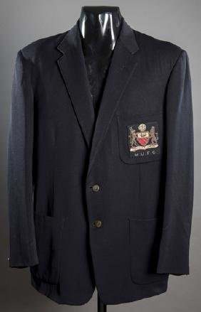 Kenny Morgans's Manchester United player's blazer circa