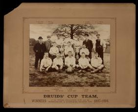 An official photograph of the Druids' Cup Team winners