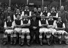 Arsenal 1934-35, original 15 by 12in. Wilkes & Son