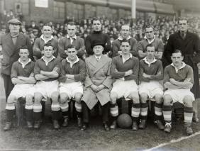 Chelsea 1935-36, original 15 by 12in. Wilkes & Son