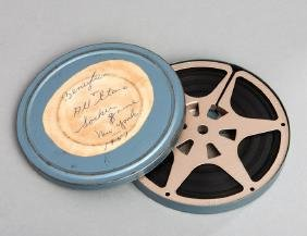 A reel of 200ft. 8mm. Kodascope film titled to the can