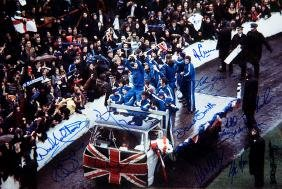 Autographed Rangers 1972 European Cup Winners' Cup