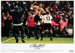 Ryan Giggs signed limited edition photographic print