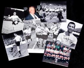Tottenham Hotspur autographs of the early 1960s team,